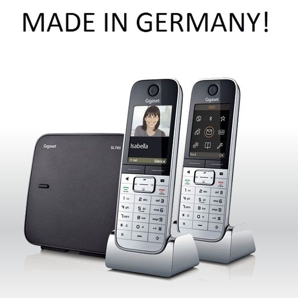 siemens gigaset sl785 phone. Black Bedroom Furniture Sets. Home Design Ideas