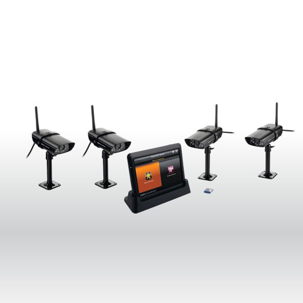 """Uniden UDS655 Wireless Surveillance System 7/"""" MONITOR 2 CAMERAS Included"""
